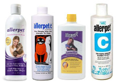 Old Allerpet Cat Bottles